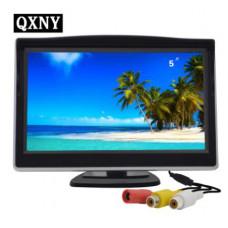 QXNY Автомобильный складной монитор HD видео монитор TFT LCD экран 4,3 или 5 дюймов дисплей